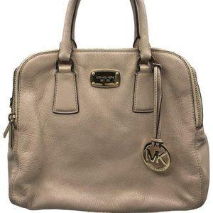 Michael Kors Cream Large Leather Shoulder Bag